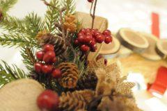 42 Country Christmas Wreath c